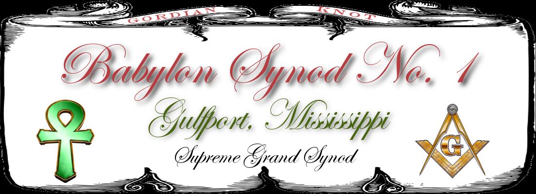 Babylon Synod No1 Logo