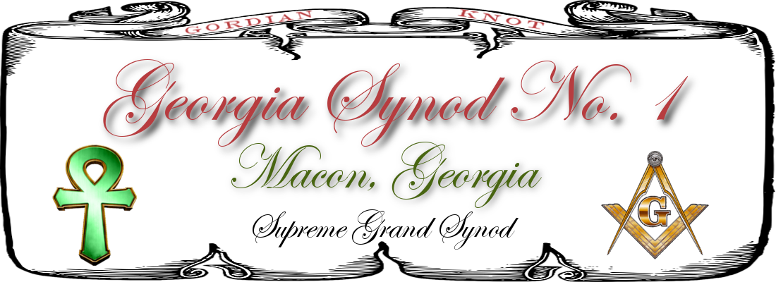 Georgia Synod No. 1 Logo