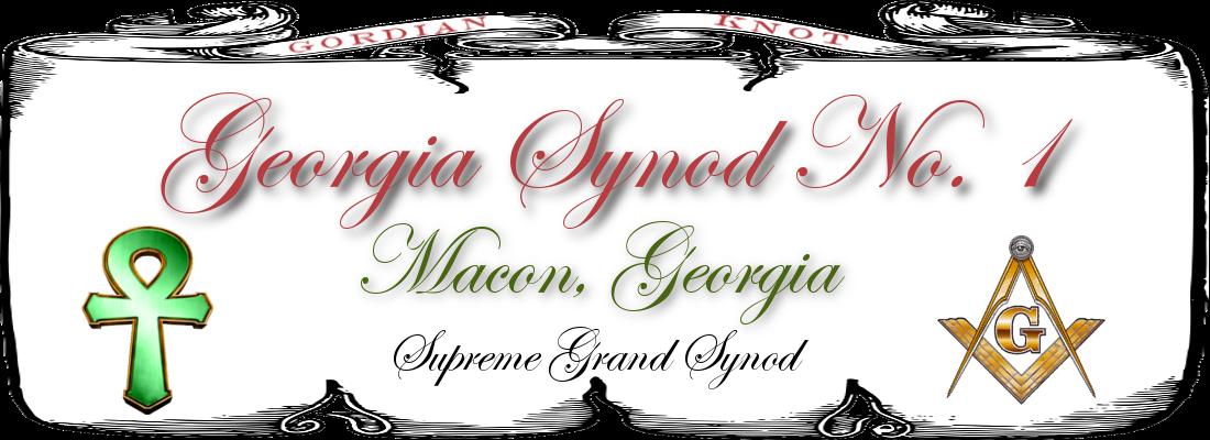 Georgia Synod No. 1 Logo